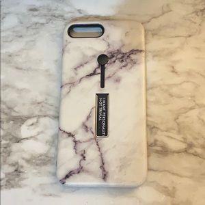 iPhone 7/8 Plus White Black Marble Case